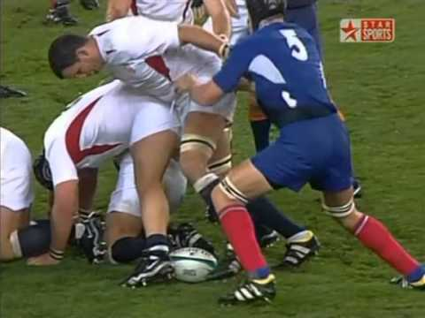 Rugby 2003. Semifinal. France v England