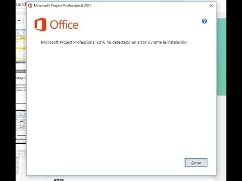 Solucion a Microsoft office a detectado un error en la instalacion 2016, 365, 2013