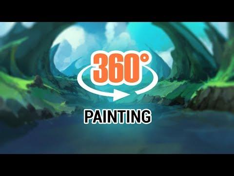360 Speedpaint - Fantasy Landscape