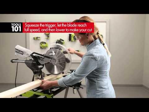 Ryobi Tools 101 - miter saws