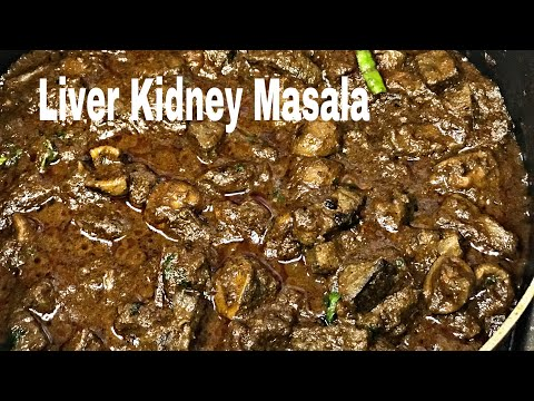 Mutton Liver/Kidney Masala Muslim Style | Kaleji Gurda Masala | Kidney Fry | Eeral Varuval in Tamil