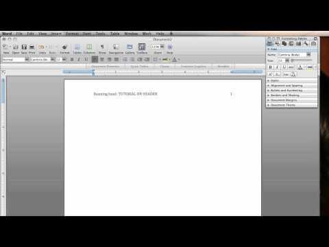 Microsoft Word adding page number and header / footer changes by ryanlowe