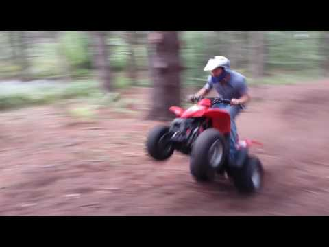 Kymco Mongoose 90 NO RESTRICTIONS me driving