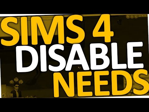 How to disable Needs in Sims 4 (Cheat)