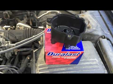 Rough engine idle after Replacing Spark Plugs - Distributor Cap and Rotor Failure