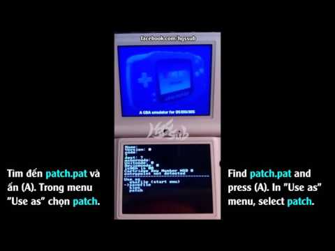 [HGS][G01] How to play GBA ROM with R4 card on your DS