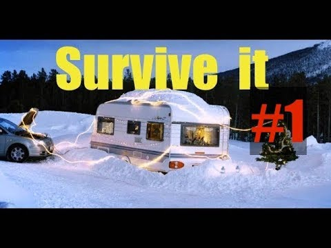 How to Survive Winter Living in a Camper - Top things I learned living in winter in an old camper ✔️