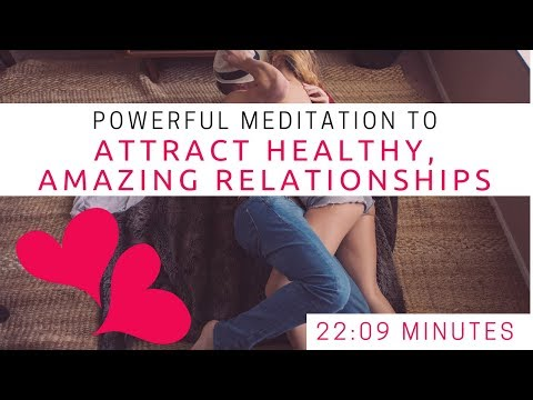 POWERFUL Self Love, Healthy Relationships, Intuition, Happiness Guided Meditation