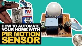 PIR Sensor Arduino Alarm Make: - Make: DIY Projects