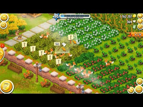 Hay Day Level 90 Update 6 HD 1080p