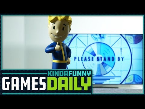 Fallout News Incoming - Kinda Funny Games Daily 05.29.18