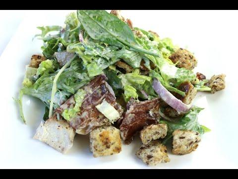 How to make Caesar Salad | Caesar Salad By International Cuisines
