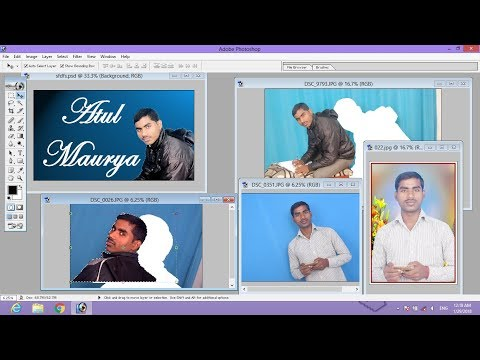 Photoshop me Photo Ka Background Change Kare || How to Change Background in Photoshop