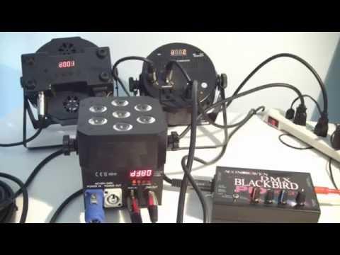 Audio to DMX Converter Tutorial - DMX BLACKBIRD PFX edition