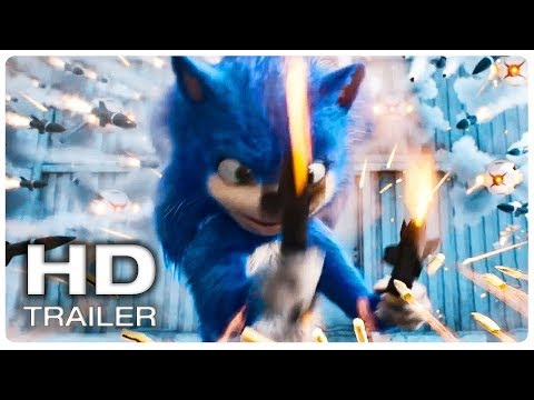 Xxx Mp4 SONIC THE HEDGEHOG Trailer 1 Official NEW 2019 Animated Movie HD 3gp Sex