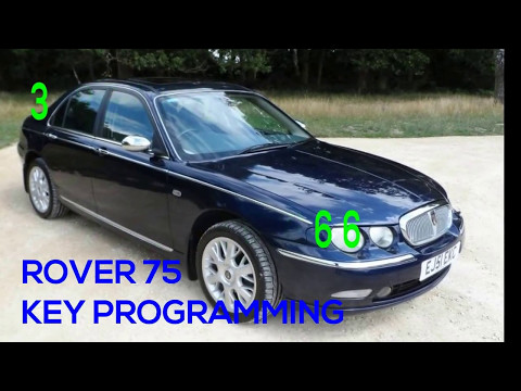 ROVER 75 SPARE REPLACEMENT CAR KEY PROGRAMMING EWS3 SYSTEM 2 BUTTON VALEO REMOTE CAR KEY