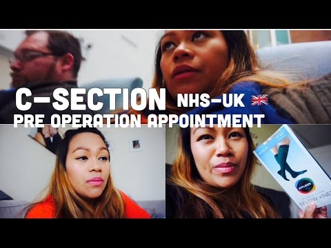 PRE OPERATION APPOINTMENT | C-SECTION UK 🇬🇧 (NHS)