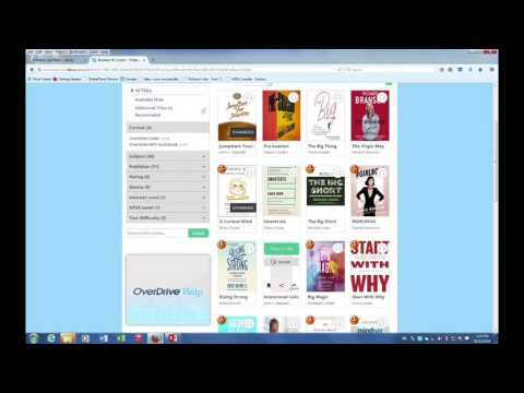 How To Download Ebooks From Overdrive To Kobo