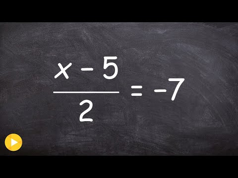Solving an equation with two terms in the numerator