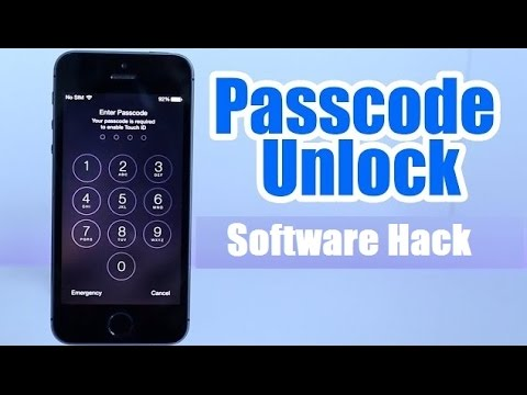 How to Bypass ios Lock Screen | Bypass Passcode iPhone By Software