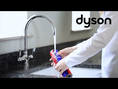 Dyson V8 and V10 cord-free vacuums - Washing the Soft roller cleaner head brush bars (UK)