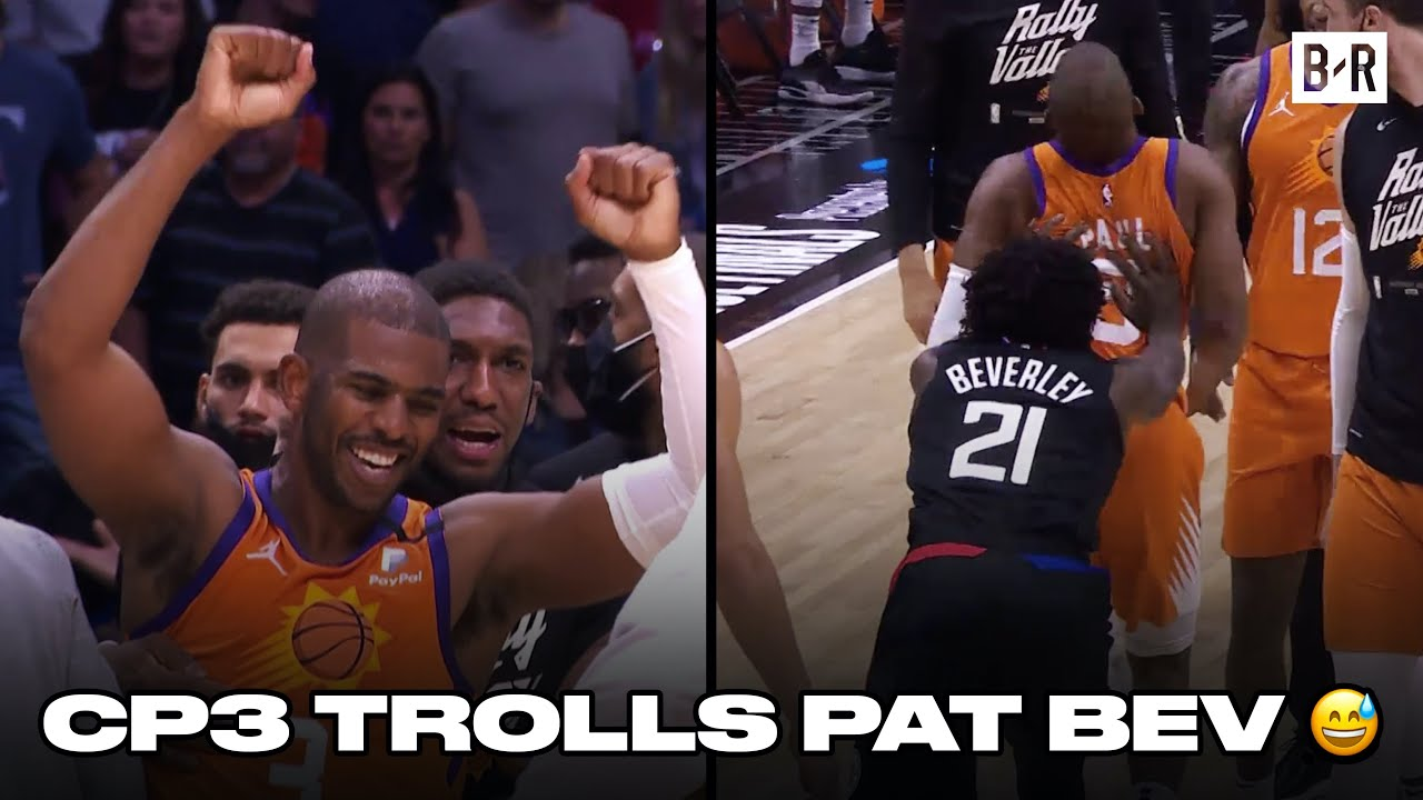 Patrick Beverley Gets Ejected After Shoving Chris Paul In Game 6 Loss