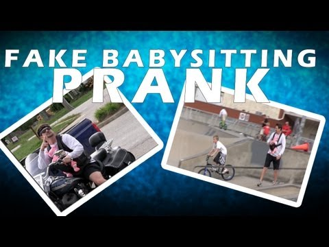 Fake Babysitting Prank by Tom Mabe