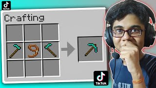 IMPOSSIBLE!! TIKTOK MINECRAFT HACKS THAT ACTUALLY WORKS!!