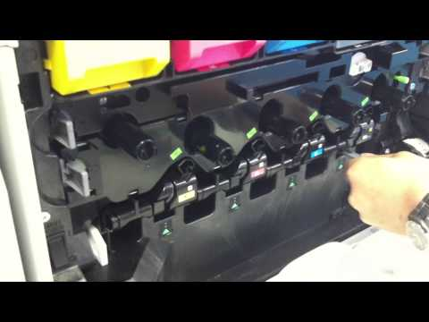 Sharp Copiers - Cleaning the Laser Unit