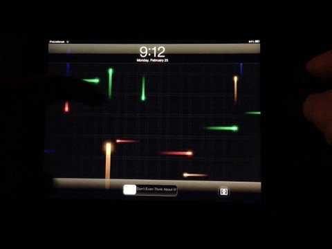 Live Wallpaper on your iPad
