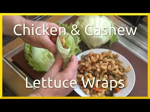 How to Cook Chicken and Cashew Lettuce Wraps