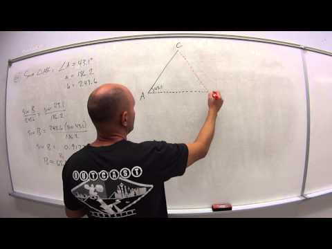 6.5.2.2 Law of Sines with 2 sides and 1 angle