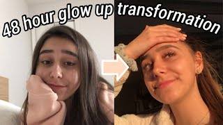 my 48 hour glow up transformation