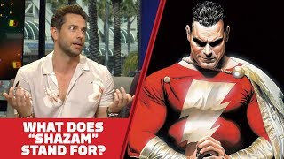 Does the Shazam! Cast Know What 'Shazam' Stands For? - Comic Con 2018