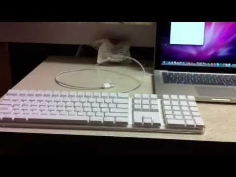 Trash picked (kinda) apple iMac keyboard