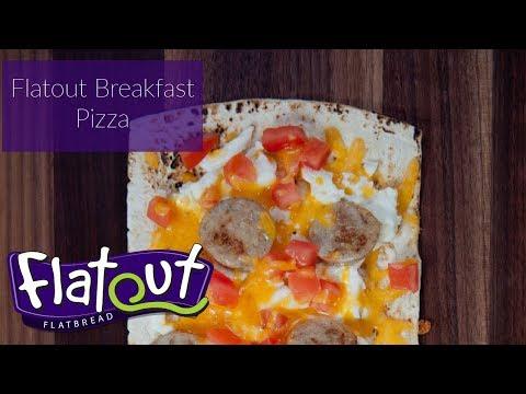 Breakfast Pizza - Flatbread Pizza Recipe - Flatout Bread