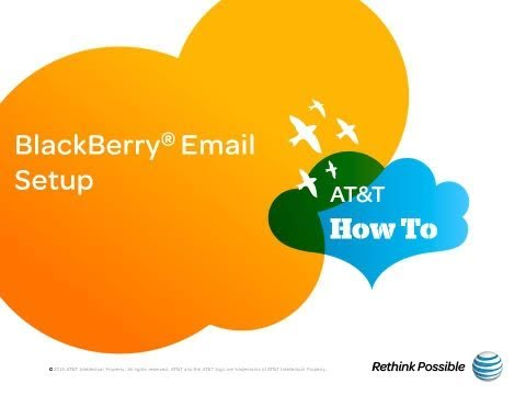 BlackBerry Email Setup: AT&T How To Video Series