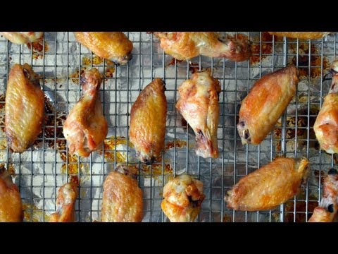 Crispy Baked Chicken Wings | A Healthier Take on Chicken Wings