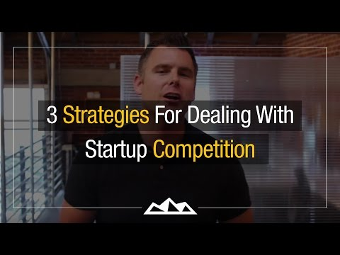 3 Strategies For Dealing With Startup Competition | Dan Martell
