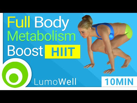 HIIT full body workout: 10 minute metabolism boosting workout to burn fat