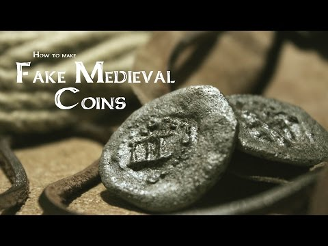 How to make Fake Medieval Coins