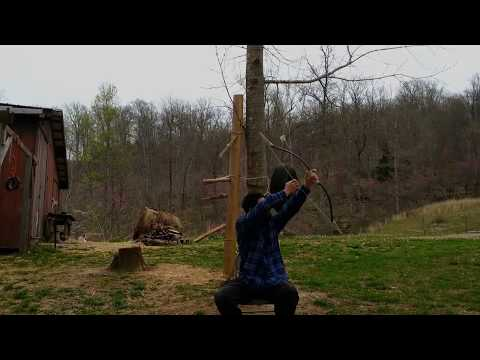 NEW primitive bamboo horse bow - The Wolverine VS the Chronograph SPEED TEST