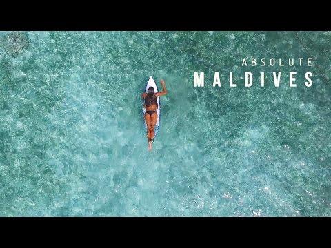 KALOEA Surfer Girls - Absolute Maldives (HD Drone 2016)