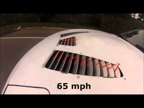 Singular Motorsports Miata Hood Louvers String Test vid