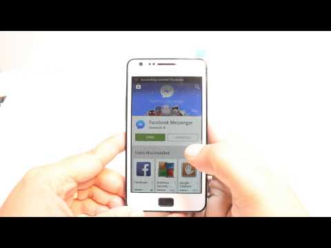 Facebook messenger install to Samsung Galaxy S2