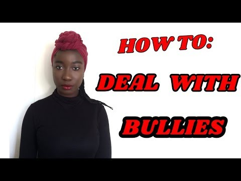 How To Deal With Bullies| Back To School