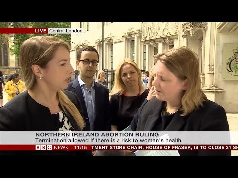 Supreme Court reject NI abortion law change - Emma Vardy reports