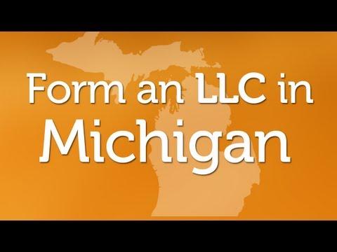 Forming an LLC in Michigan