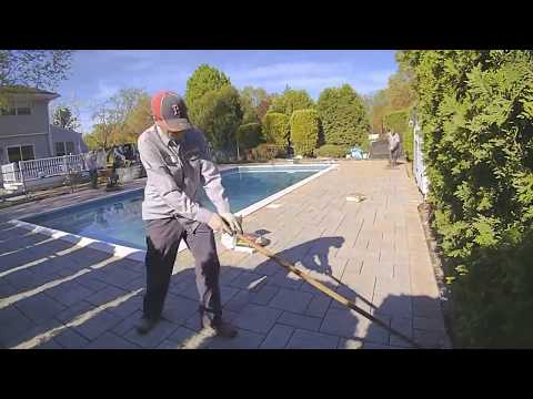 How We Install a Pool Patio