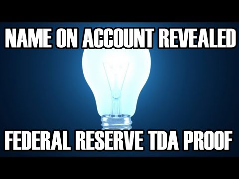 Account Name PROOF - Federal Reserve TDA - Credit Union Verifies - Harvey Dent